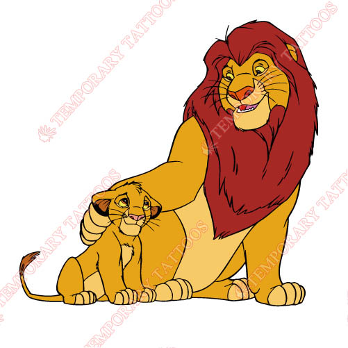The Lion King Customize Temporary Tattoos Stickers NO.941
