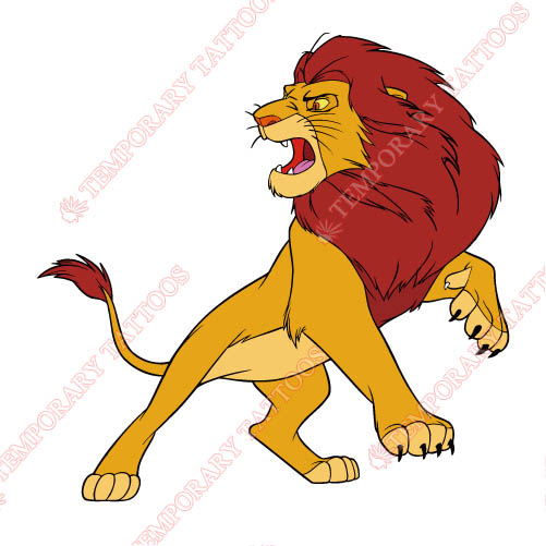 The Lion King Customize Temporary Tattoos Stickers NO.942