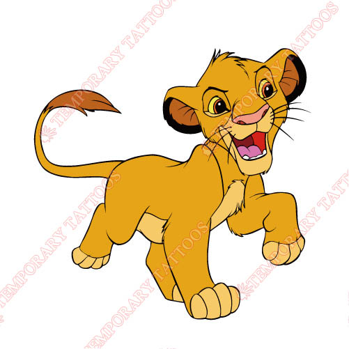 The Lion King Customize Temporary Tattoos Stickers NO.944