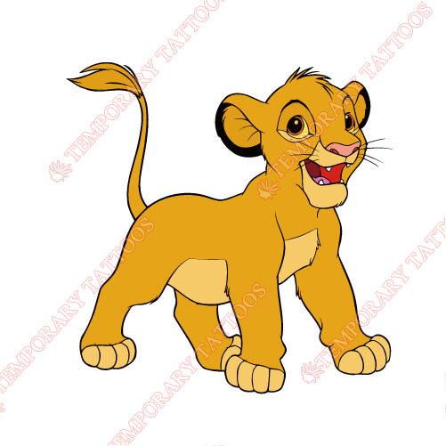 The Lion King Customize Temporary Tattoos Stickers NO.945
