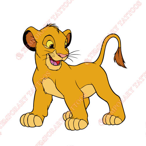 The Lion King Customize Temporary Tattoos Stickers NO.949