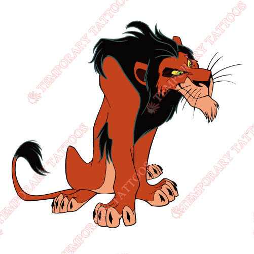 The Lion King Customize Temporary Tattoos Stickers NO.963