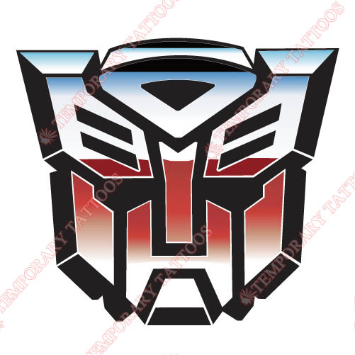 Transformers Customize Temporary Tattoos Stickers NO.3205