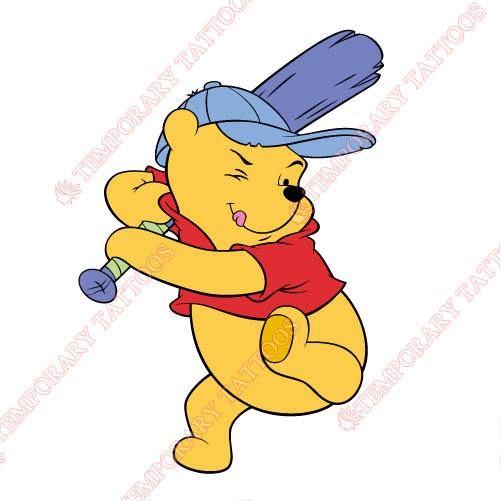 Winnie the Pooh Customize Temporary Tattoos Stickers NO.920