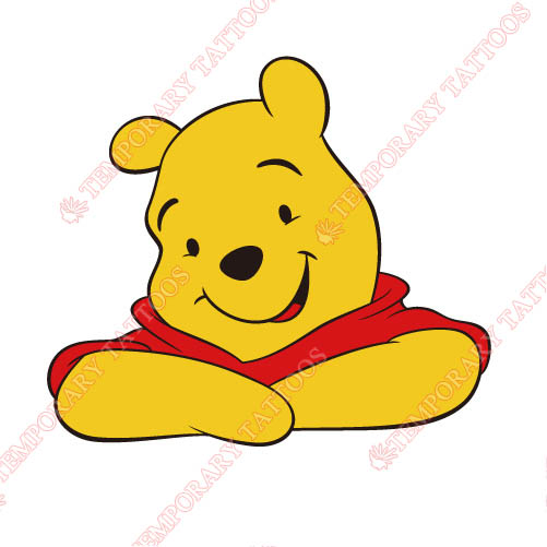 Winnie the Pooh Customize Temporary Tattoos Stickers NO.925