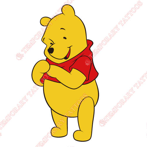 Winnie the Pooh Customize Temporary Tattoos Stickers NO.926