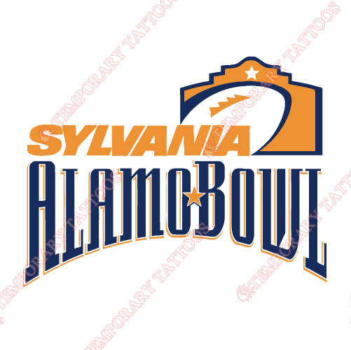 Alamo Bowl Primary Logos 1998 2001 Customize Temporary Tattoos Stickers N3240