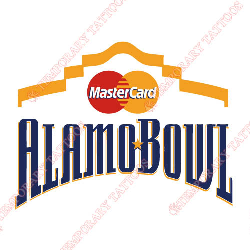 Alamo Bowl Primary Logos 2002 2005 Customize Temporary Tattoos Stickers N3241