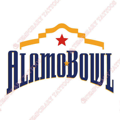 Alamo Bowl Primary Logos 2006 Customize Temporary Tattoos Stickers N3242