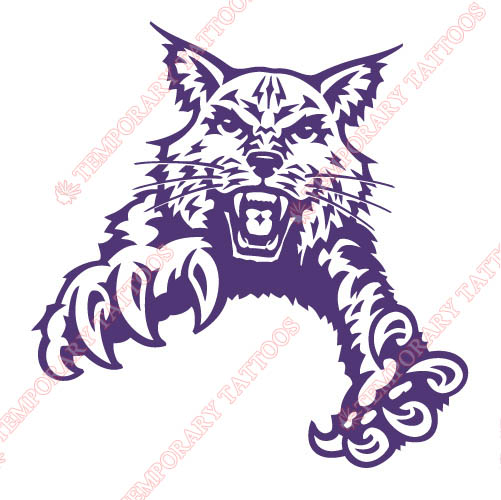 Abilene Christian Wildcats 1997-2012 Partial Customize Temporary Tattoos Stickers NO.3677