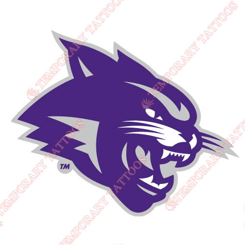 Abilene Christian Wildcats 2013-Pres Partial Customize Temporary Tattoos Stickers NO.3680