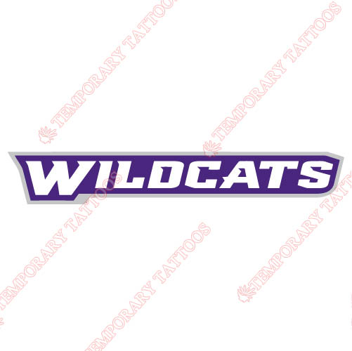 Abilene Christian Wildcats 2013-Pres Wordmark Logo1 Customize Temporary Tattoos Stickers N3683
