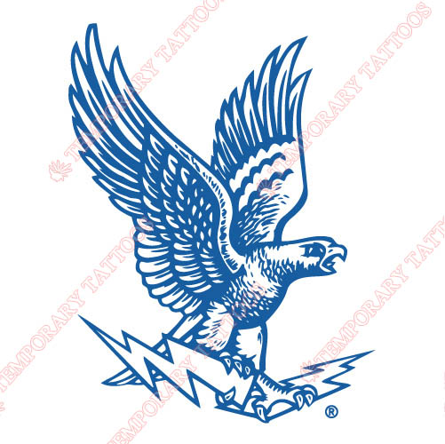 1963-1994 Air Force Falcons Primary Customize Temporary Tattoos Stickers NO.3694