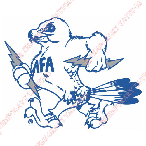 1973-Pres Air Force Falcons Mascot Customize Temporary Tattoos Stickers NO.3695