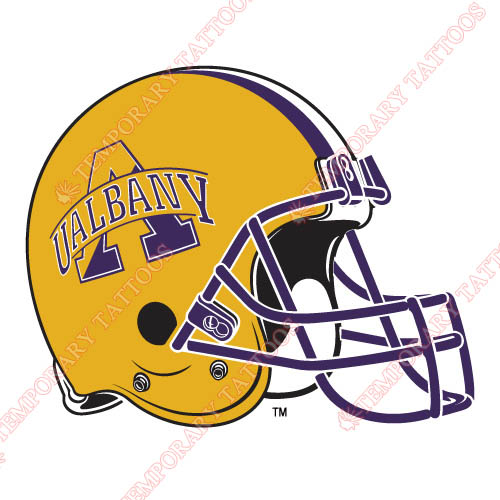 Albany Great Danes 2004-Pres Helmet Customize Temporary Tattoos Stickers NO.3712