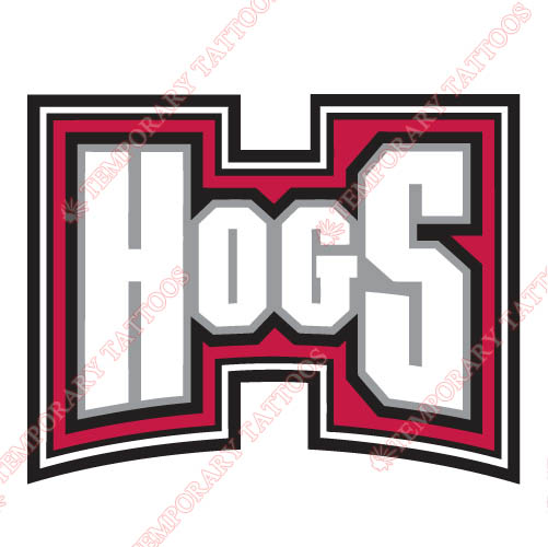Arkansas Razorbacks 2001 2008 Wordmark Logo3 Customize Temporary Tattoos Stickers N3742