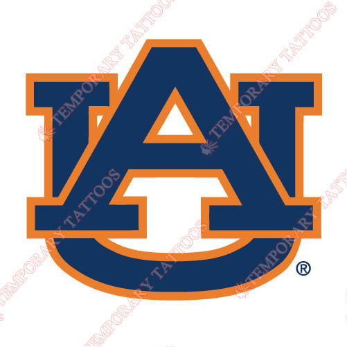 Auburn Tigers 1971 Pres Primary Customize Temporary Tattoos Stickers NO.3758