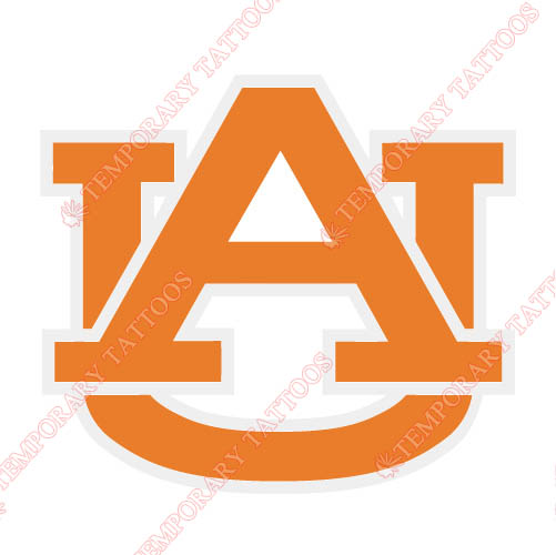 Auburn Tigers 1982 Pres Alternate Customize Temporary Tattoos Stickers NO.3760