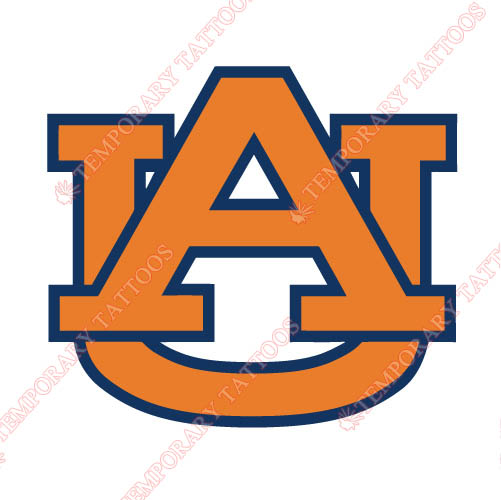 Auburn Tigers 1991 Pres Alternate Customize Temporary Tattoos Stickers NO.3761