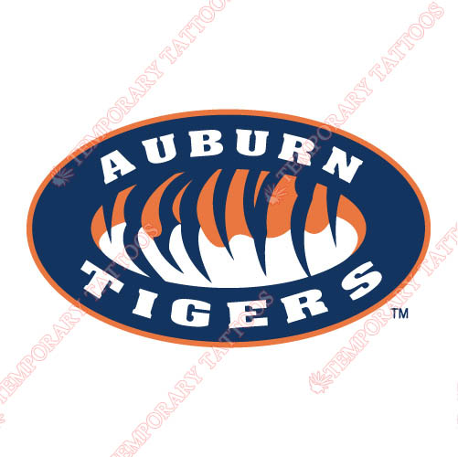 Auburn Tigers 1998 Pres Alternate Customize Temporary Tattoos Stickers NO.3763