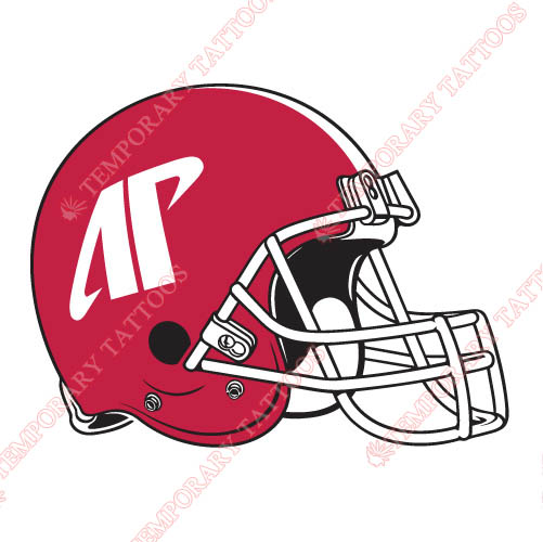 Austin Peay Governors 0 Pres Helmet Customize Temporary Tattoos Stickers NO.3764
