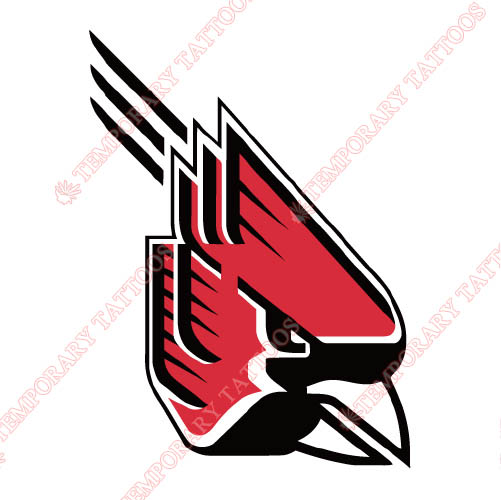 Ball State Cardinals 1990 Pres Primary Customize Temporary Tattoos Stickers NO.3768