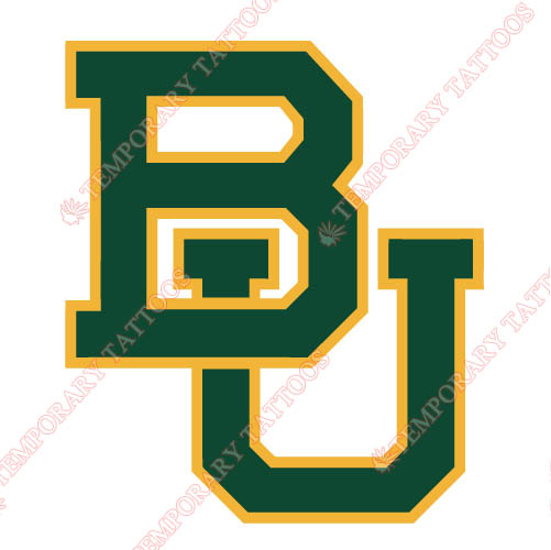 Baylor Bears 2005 Pres Primary Customize Temporary Tattoos Stickers NO.3770