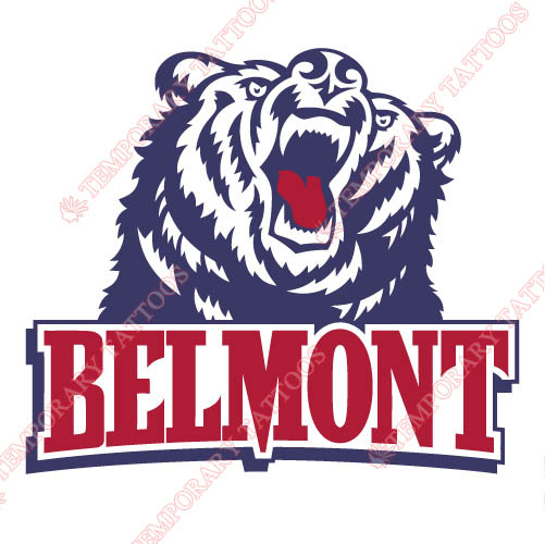 Belmont Bruins 2003 Pres Primary Customize Temporary Tattoos Stickers NO.3772