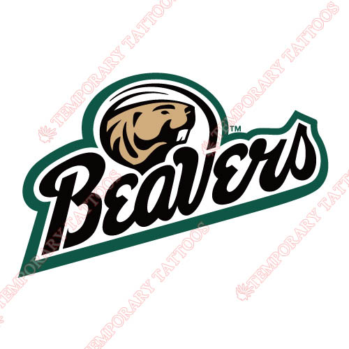 Bemidji State Beavers 2004 Pres Customize Temporary Tattoos Stickers NO.3995