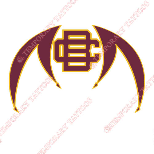 Bethune Cookman Wildcats 2010 Pres Alternate Customize Temporary Tattoos Stickers NO.4001