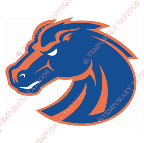Boise State Broncos Customize Temporary Tattoos Stickers NO.4010