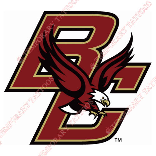Boston College Eagles Customize Temporary Tattoos Stickers NO.4014