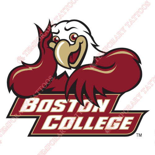 Boston College Eagles Customize Temporary Tattoos Stickers NO.4015