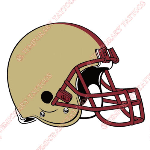 Boston College Eagles Customize Temporary Tattoos Stickers NO.4016