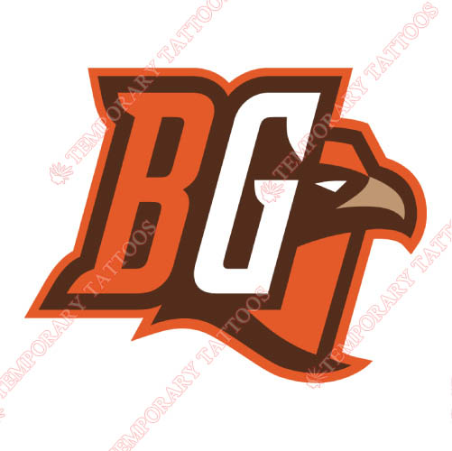 Bowling Green Falcons Customize Temporary Tattoos Stickers NO.4021