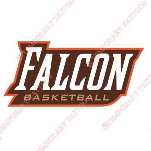Bowling Green Falcons Customize Temporary Tattoos Stickers NO.4023
