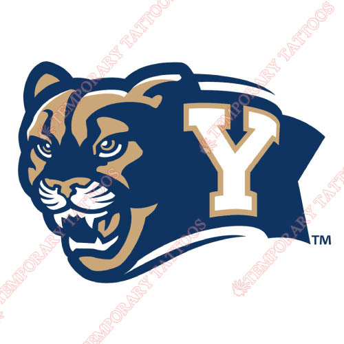 Brigham Young Cougars Customize Temporary Tattoos Stickers NO.4024