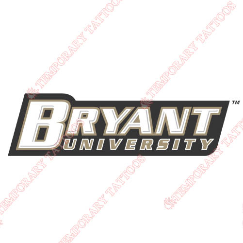 Bryant Bulldogs Customize Temporary Tattoos Stickers NO.4033