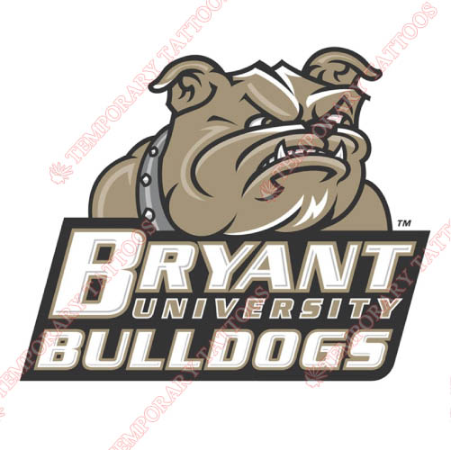 Bryant Bulldogs Customize Temporary Tattoos Stickers NO.4034