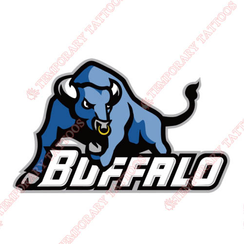 Buffalo Bulls Customize Temporary Tattoos Stickers NO.4040