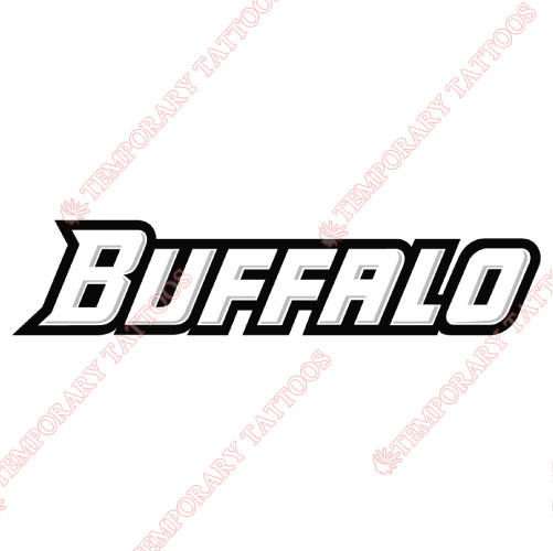 Buffalo Bulls Customize Temporary Tattoos Stickers NO.4041