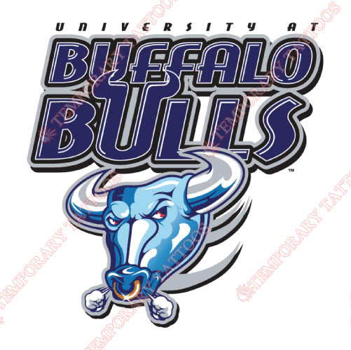 Buffalo Bulls Customize Temporary Tattoos Stickers NO.4042