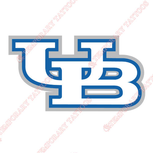 Buffalo Bulls Customize Temporary Tattoos Stickers NO.4043