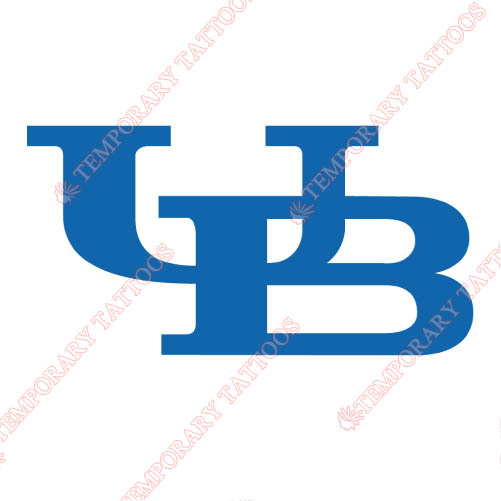 Buffalo Bulls Customize Temporary Tattoos Stickers NO.4044