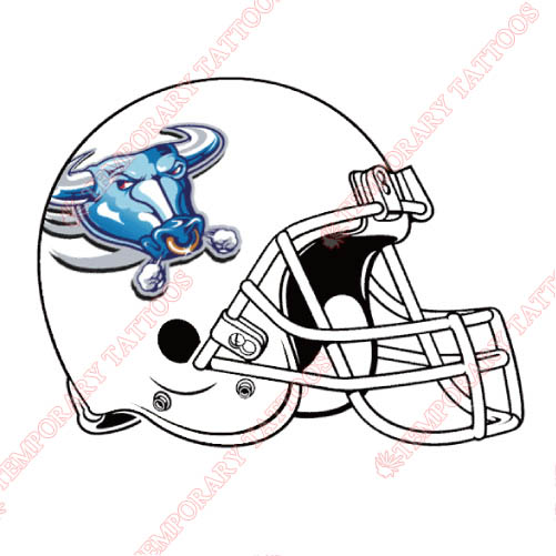 Buffalo Bulls Customize Temporary Tattoos Stickers NO.4046