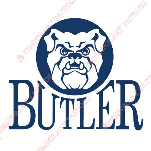 Butler Bulldogs Customize Temporary Tattoos Stickers NO.4047