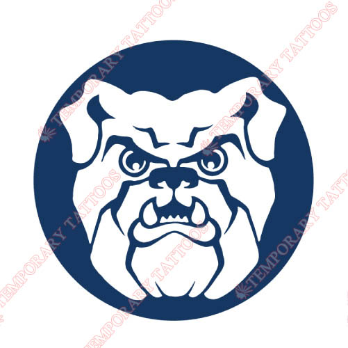 Butler Bulldogs Customize Temporary Tattoos Stickers NO.4048