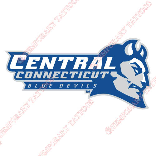 CCSU Blue Devils Customize Temporary Tattoos Stickers NO.4094