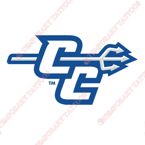 CCSU Blue Devils Customize Temporary Tattoos Stickers NO.4095