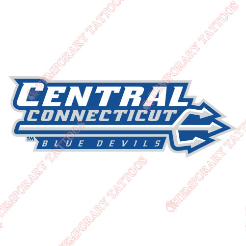 CCSU Blue Devils Customize Temporary Tattoos Stickers NO.4096